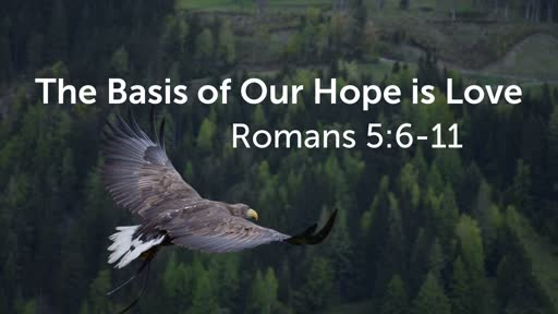 The Basis of Our Hope is Love