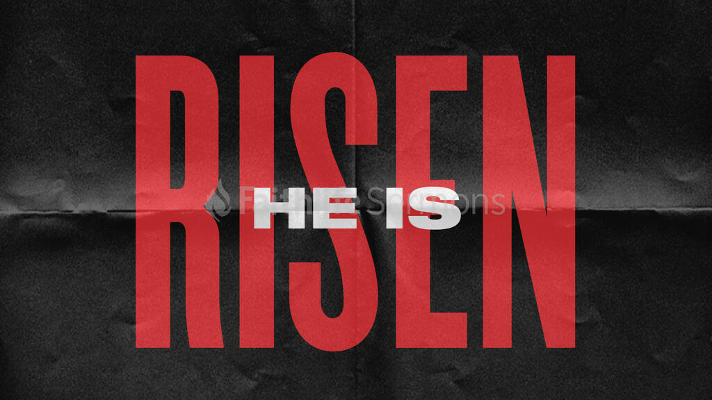 He is Risen - Paper large preview