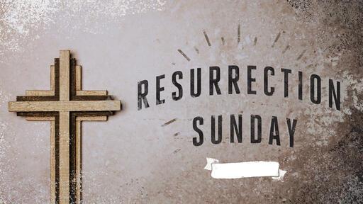 Resurrection Sunday Cross