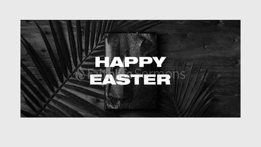 Happy Easter Bible