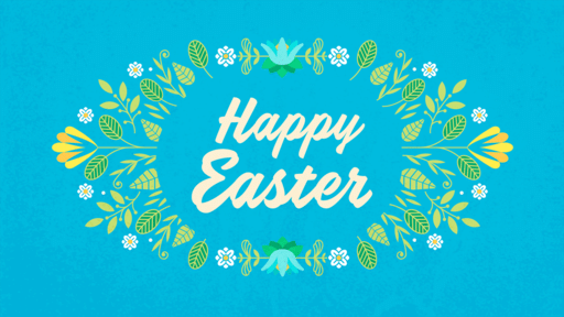 Happy Easter Flowers