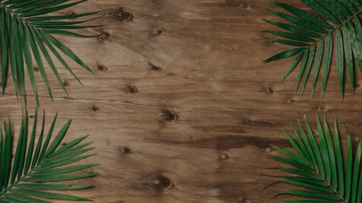 Palm Leaves Wood
