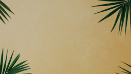 Palm Leaves Yellow sermon title 16x9 83706064 6e61 496e a532 38ee27b2a341 PowerPoint image