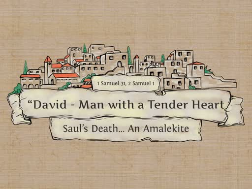 Saul's Death...An Amalekite