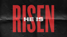 He is Risen - Paper  PowerPoint Photoshop image 1