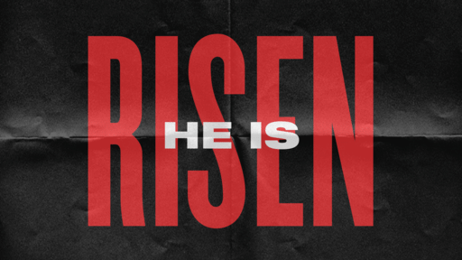 He is Risen - Paper