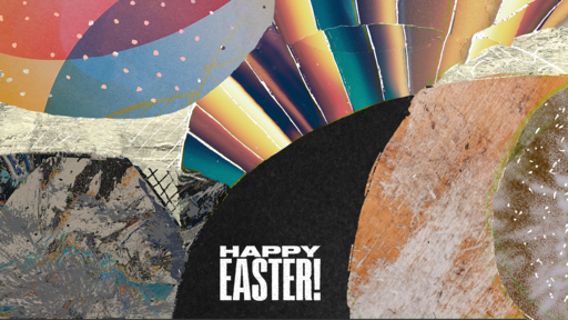 Happy Easter Texture