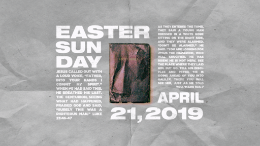 Easter Sunday Bible