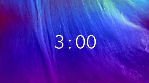 Easter Nebula - Countdown 3 min