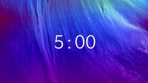 Easter Nebula - Countdown 5 min