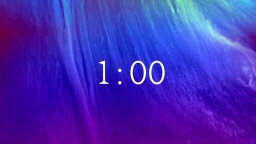 Easter Nebula - Countdown 1 min
