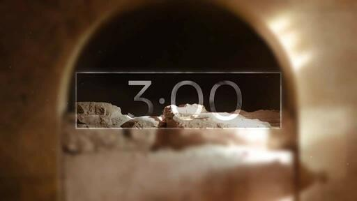 He Is Risen Indeed Tomb - Countdown 3 min