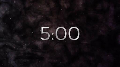 Ash Wednesday Galaxy - Countdown 5 min