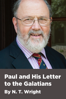 Paul and His Letter to the Galatians by N. T. Wright (4.5 hour course)