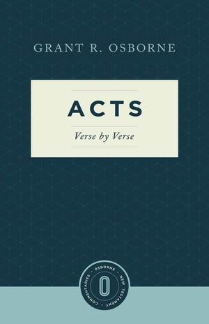 Acts Verse by Verse