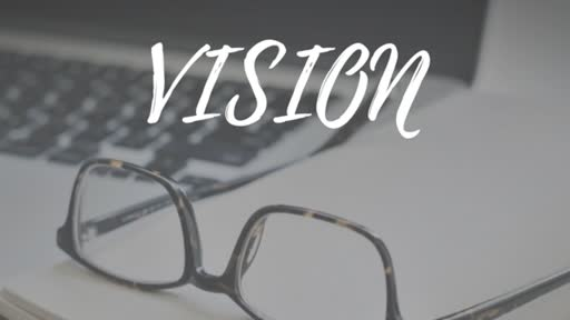 Vision Must Be Funded