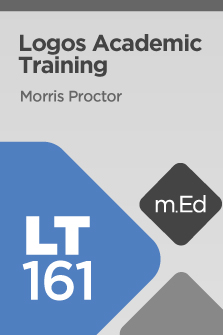 Mobile Ed: LT161 Logos 6 Academic Training (Course Overview)