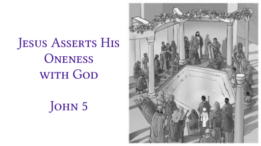 Jesus Asserts His Oneness with God
