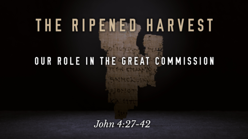 The Ripened Harvest