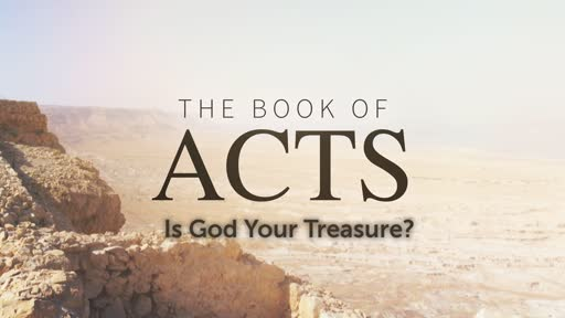 Is God Your Treasure?