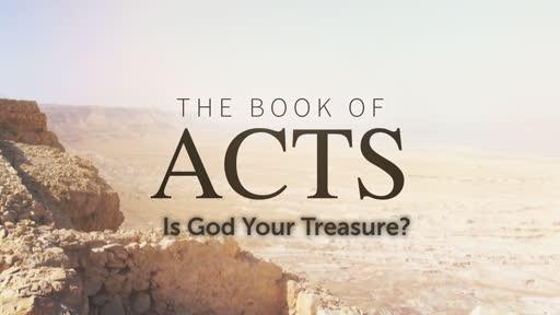 Is God Your Treasure?