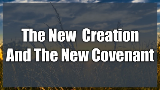 The New Man and The New Covenant