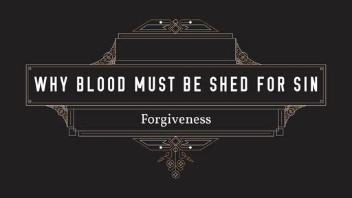 Sunday, Feb. 17th - Why blood must be shed