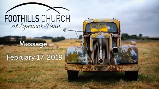 Sunday Service Feb 17 - The Sh'ma