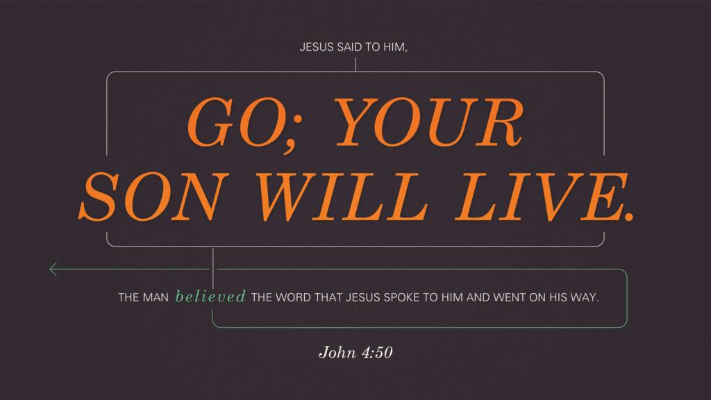 John 4:50 large preview