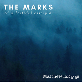 The Marks of a Faithful Disciple - Introduction