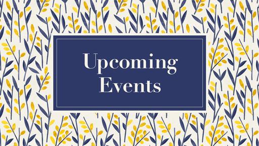Announcements Feb 24