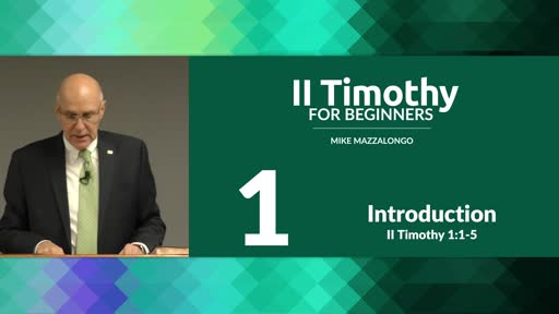 Introduction to II Timothy
