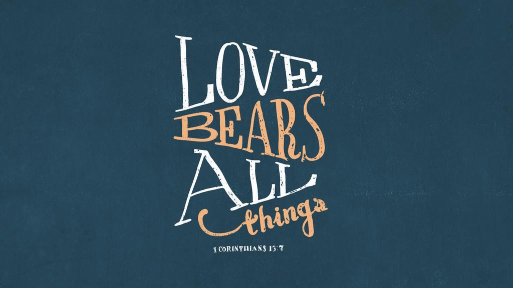 1 Corinthians 13:7 large preview