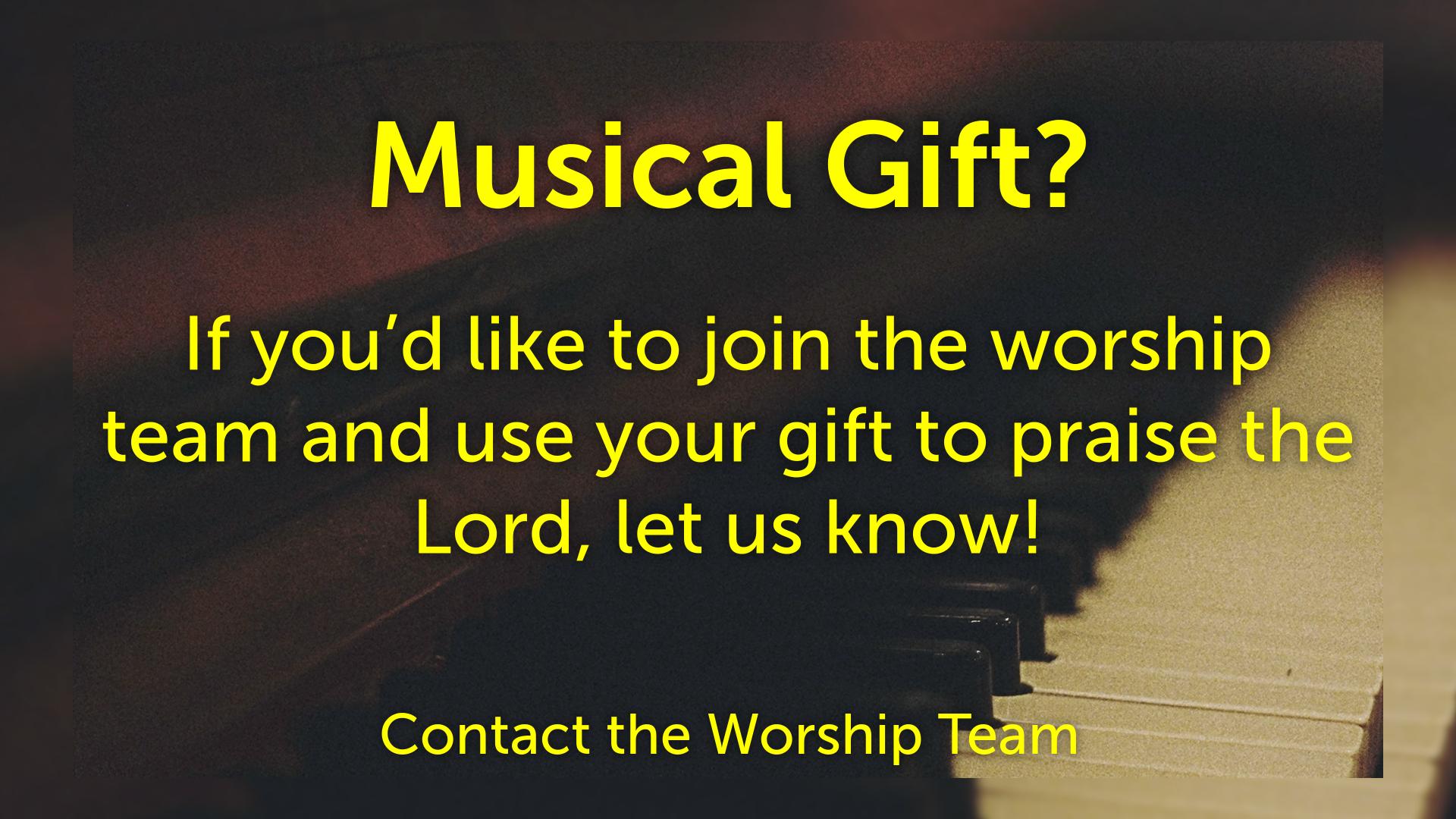 Musical Gift?