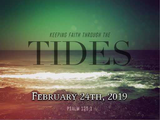 Sunday February 24th 2019 Holy Communion