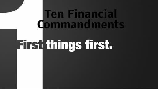 1st Things 1st 9