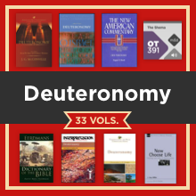 Deuteronomy Study Collection