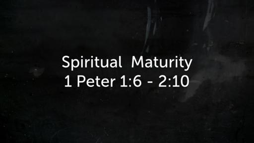 February 24 - Spiritual Maturity