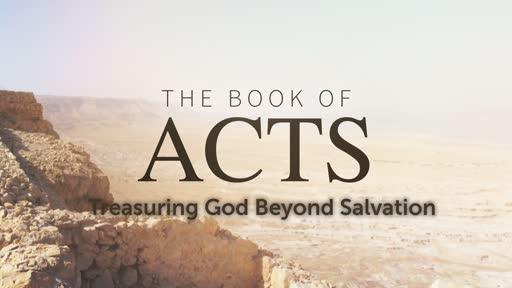 Treasuring God Beyond Salvation