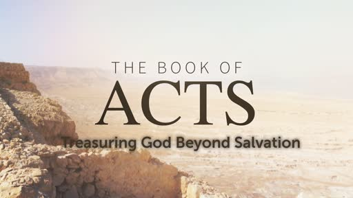 Treasuring God Beyond Salvation