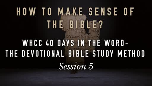 How to Make Sense of the Bible 02-24-19