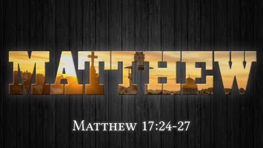 Matthew 17:24-27
