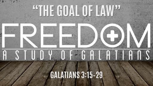 """""""The Goal of Law"""" 