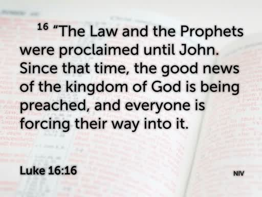 The Rich Man and Lazarus (Luke 16:19-31)