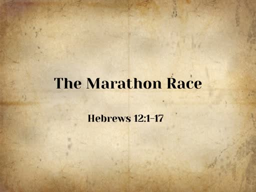 The Marathon Race