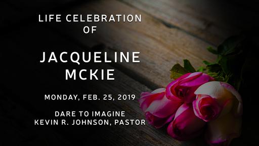 Jacqueline McKie