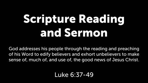 Luke 6:37-49: Following the King