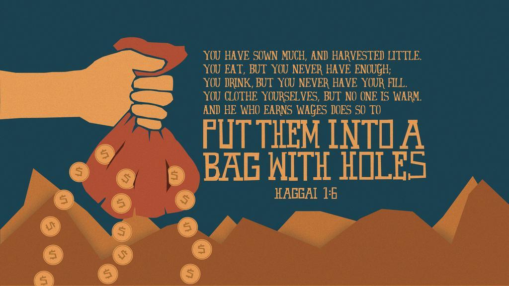 Haggai 1:6 large preview