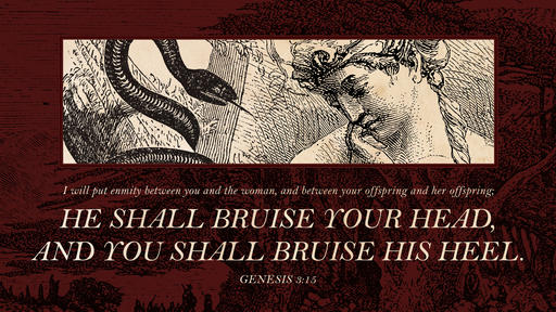 Genesis 3:15 verse of the day image