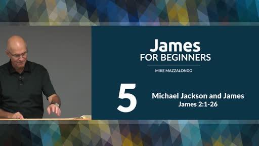 Michael Jackson and James